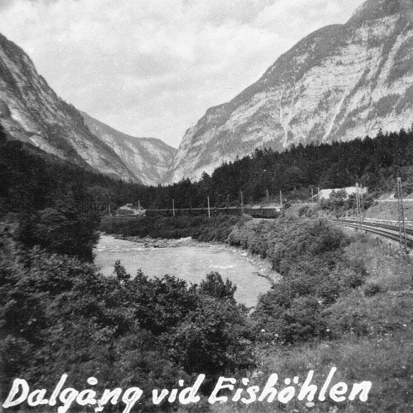 Dalgång vid Eishöhlen.
