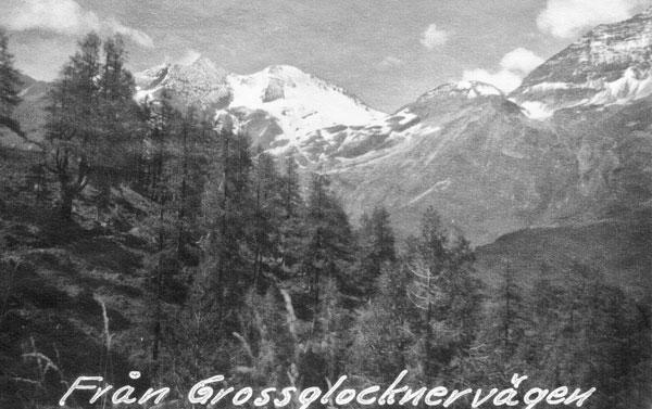 Utsikt från Grossglocknervägen.