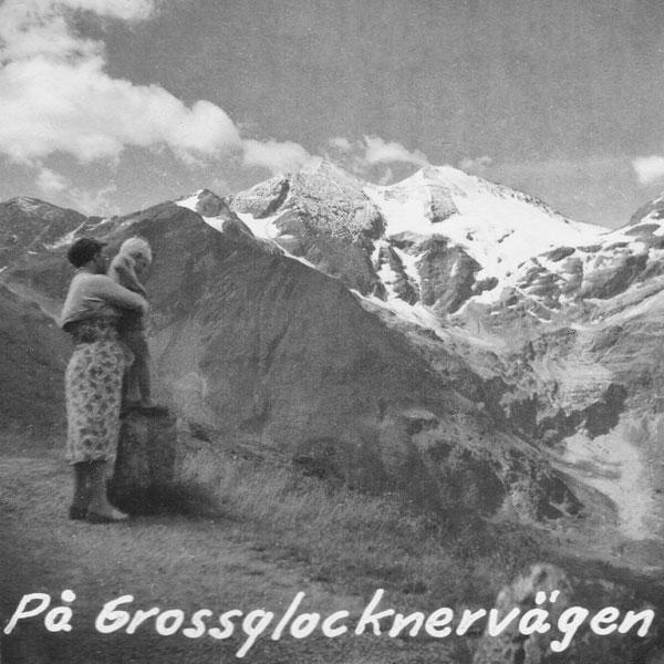 På Grossglocknervägen.