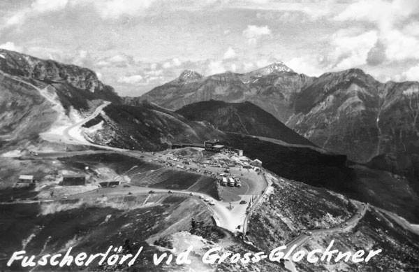 Fuschertörl vid Grossglocknervägen.