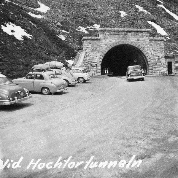 Vid Hochtortunneln, Grossglocknervägen.