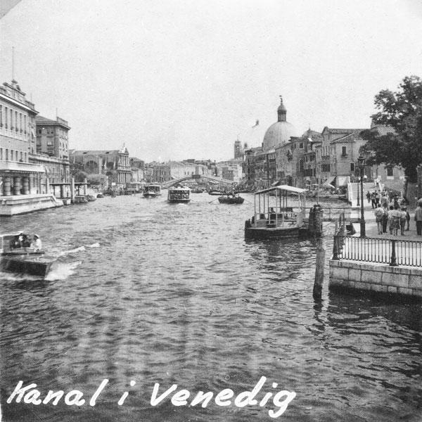 Canal Grande i Venedig.