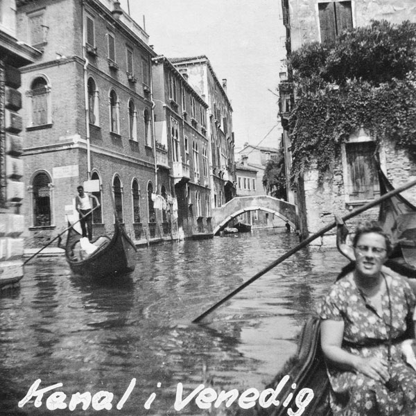 Kanal i Venedig.
