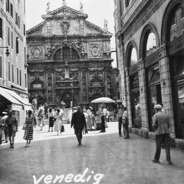 Gata i Venedig.