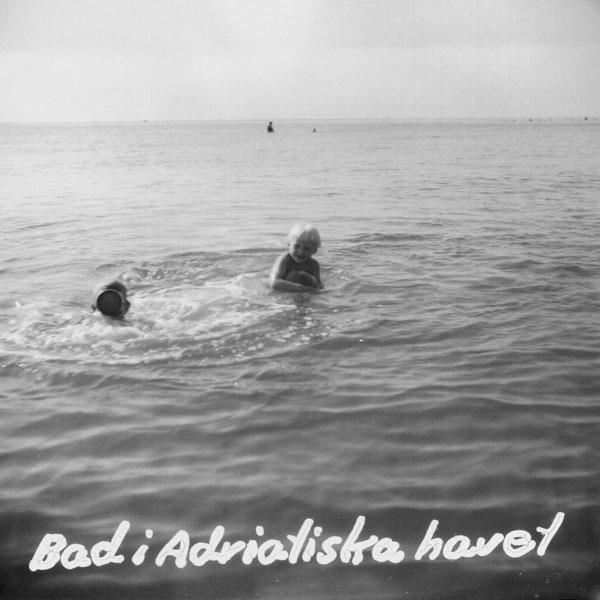 Bad i Adriatiska havet.