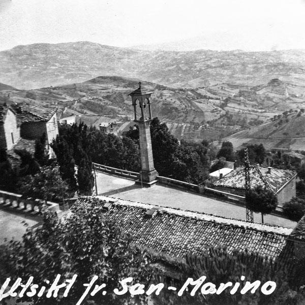 Utsikt från San Marino.