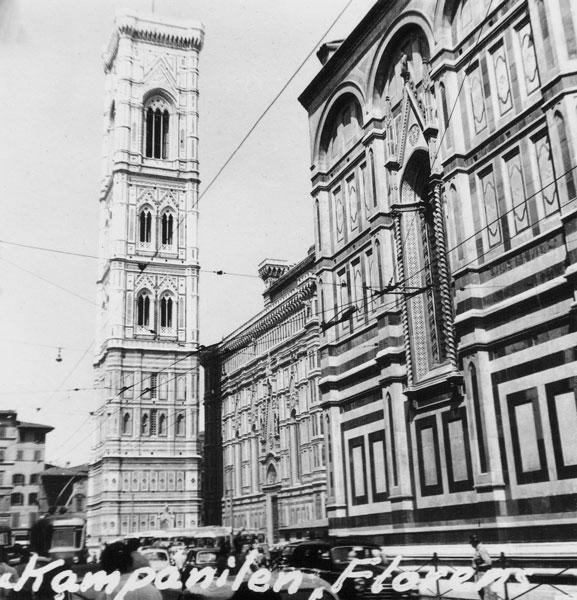 Kampanilen i Florens.