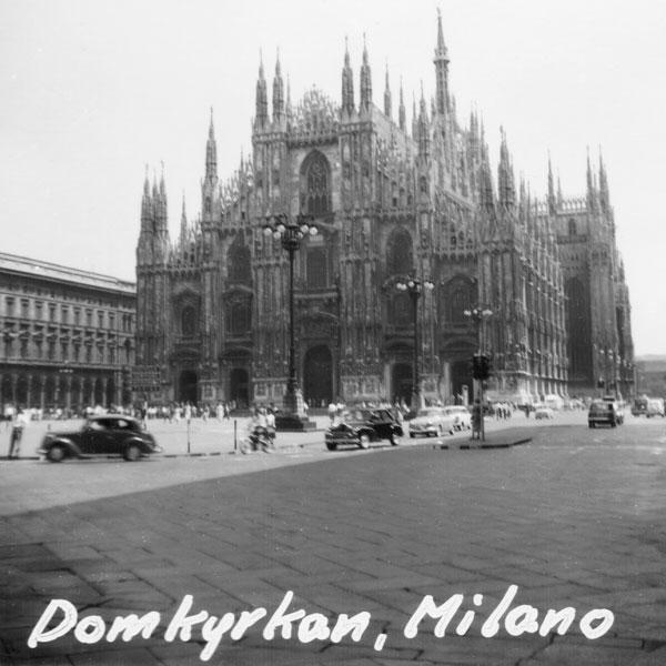 Domkyrkan i Milano.