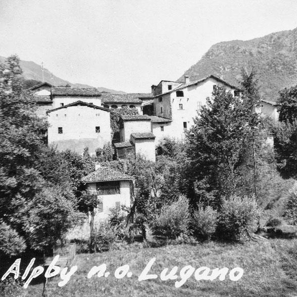 By nära Lugano.