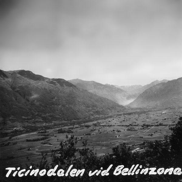 Ticinodalen vid Bellinxona.