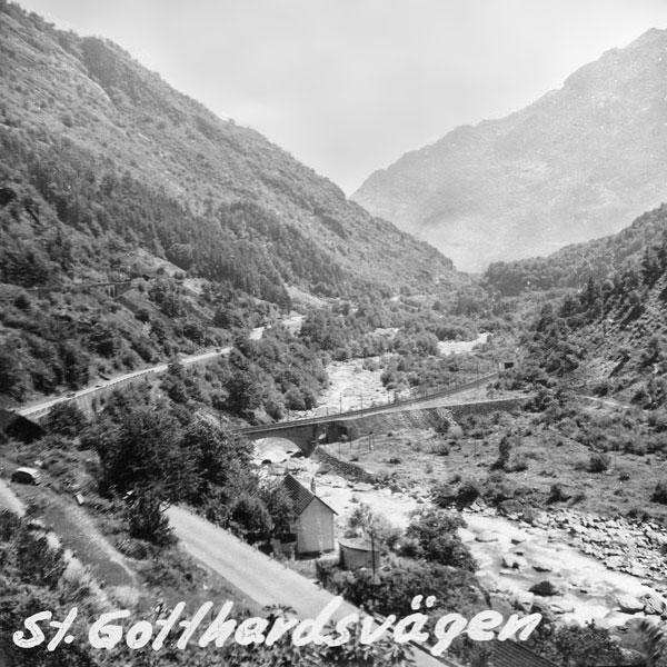 S:t Gotthardsvägen.