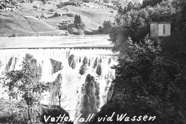 Vattenfall vid Wassen.