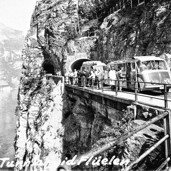 Tunnel vid Flüelen.