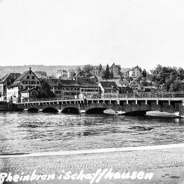 Rheinbrücke i Schaffhausen.