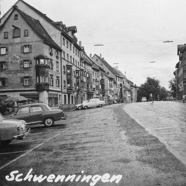 Gatubild från Schwenningen.