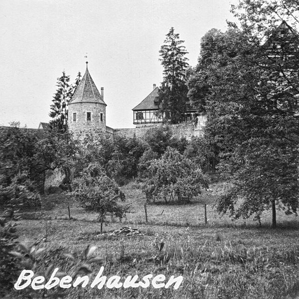 Bebenhausen.