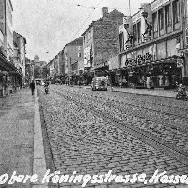 Obere Königsstrasse i Kassel.