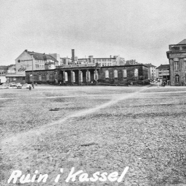 Ruin i Kassel.