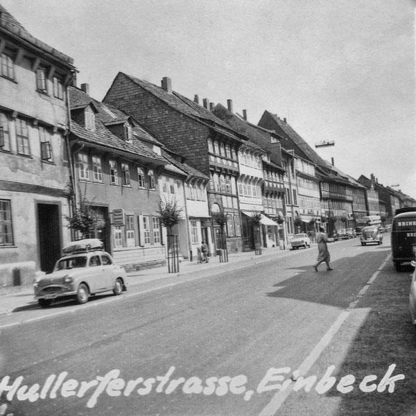 Hullerferstrasse i Einbeck.