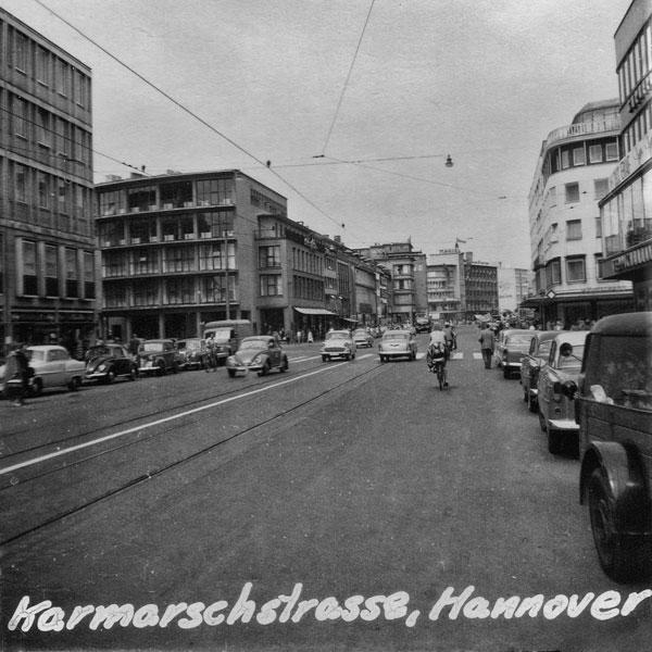Karmarschstrasse i Hamburg.