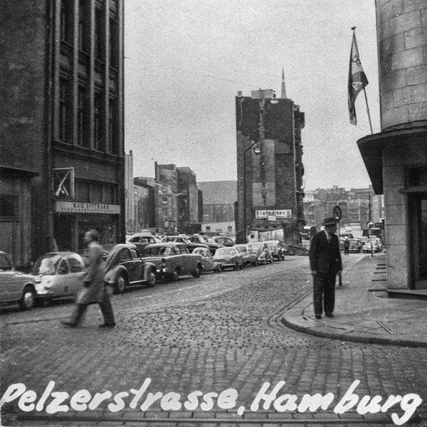 Pelzerstrasse i Hamburg.