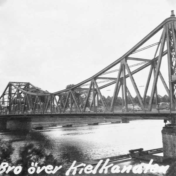 Bro över Kielkanalen.