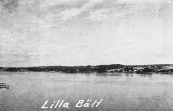 Lilla Bält mellan Jylland och Fyn.