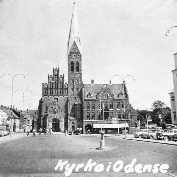 Kyrka i Odense.