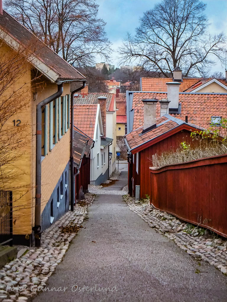 Gränd i Strängnäs.