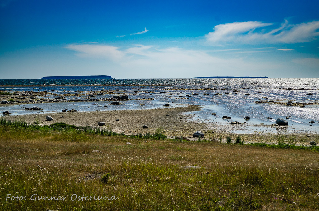 Östersjöstranden söder om Visby.