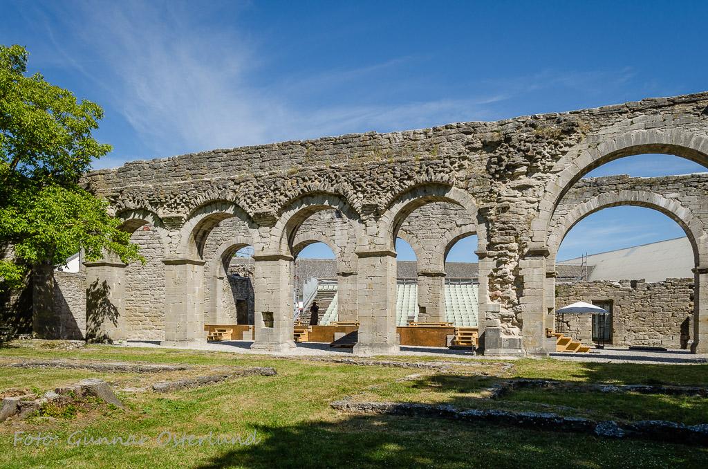 Ruin, Roma kloster.