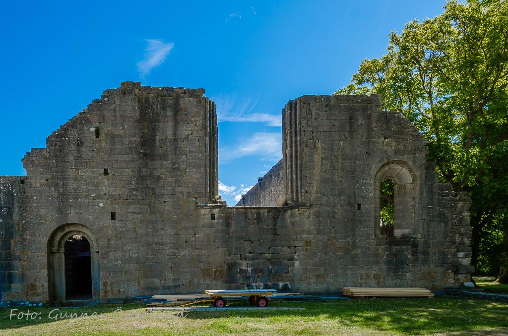 Kyrkoruin, Roma kloster.