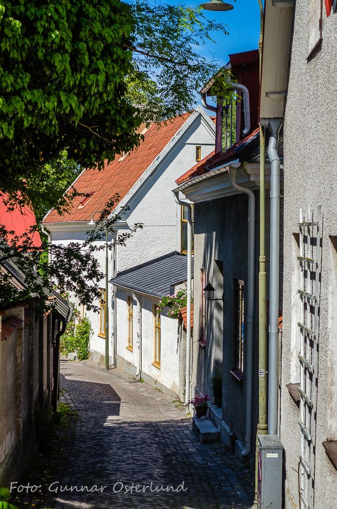 Gränd i Visby.
