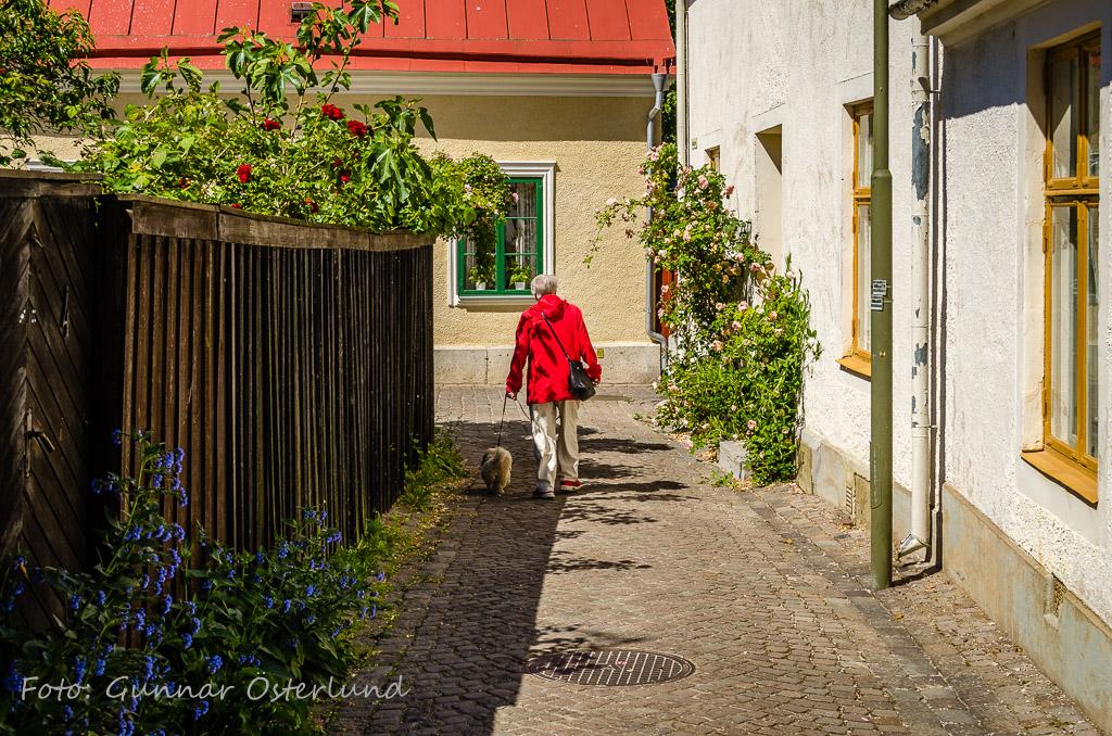 Birgitta och Mimi i Visby.
