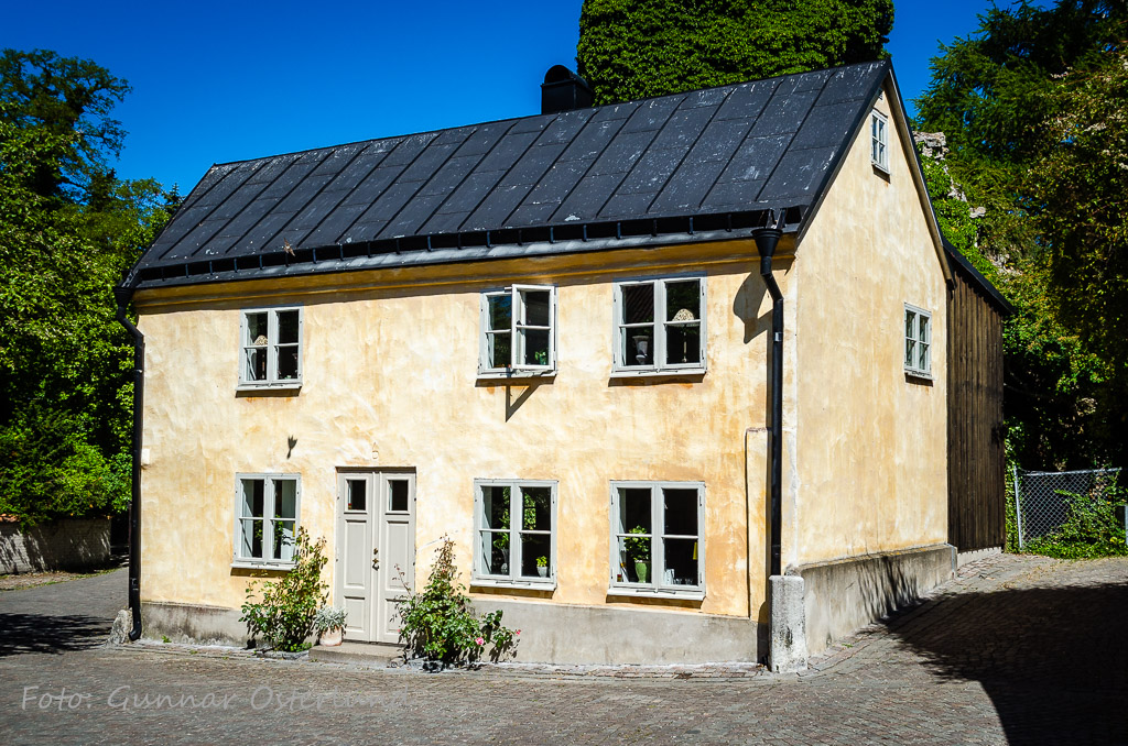 Hus i Visby.