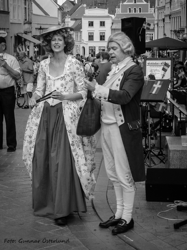 Bellman och Ulla Winblad.