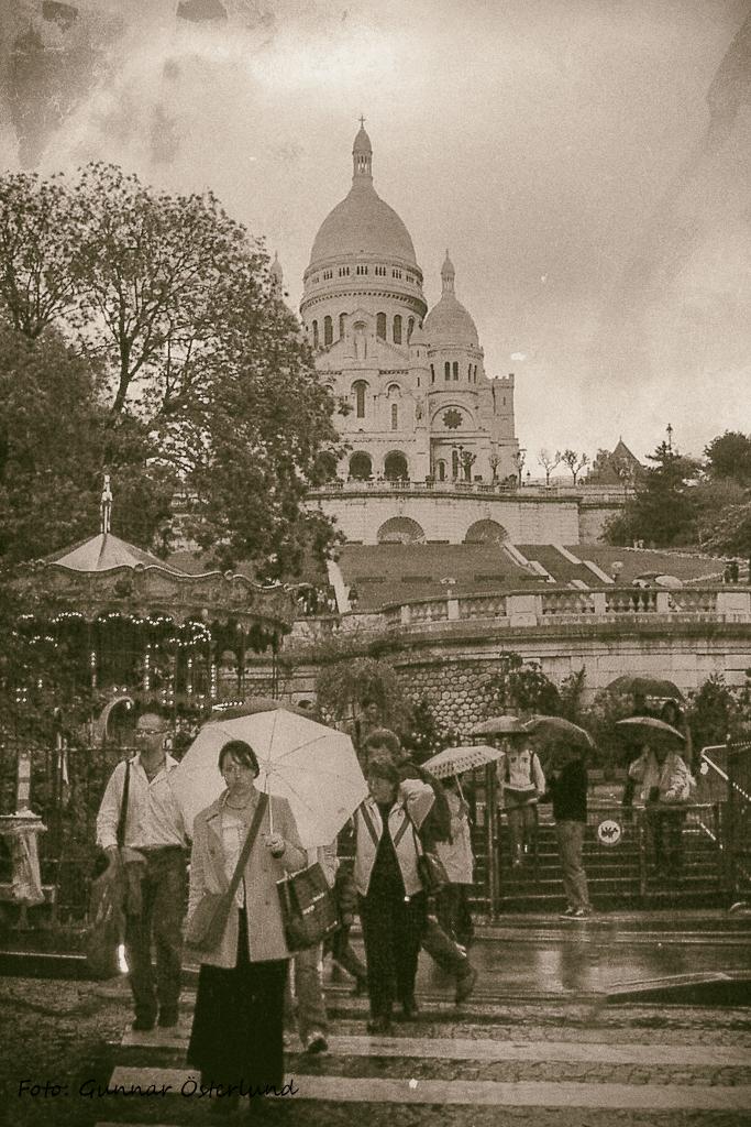 Regnigt Paris