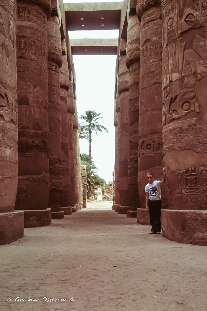 Pelarrad i Karnak.