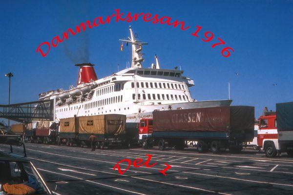 Danmarksresan 1976, del 1.