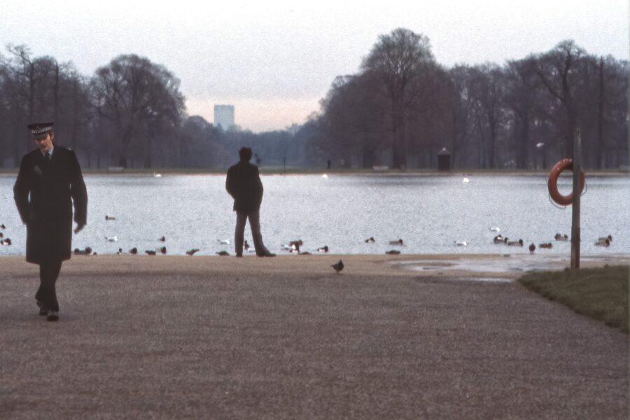 Från Hyde Park.