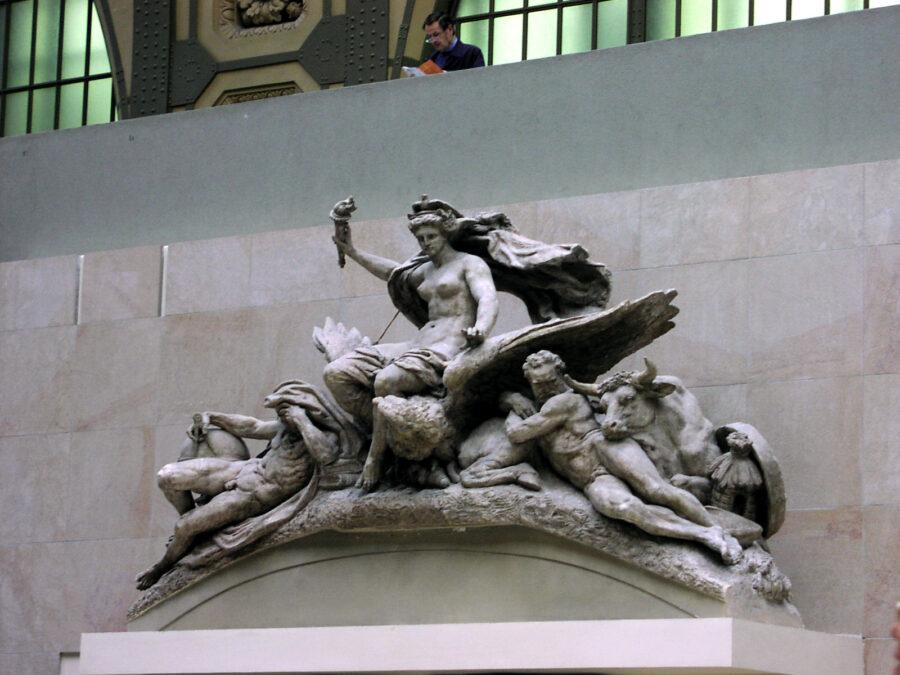 Interiörbild från Musée D'Orsay