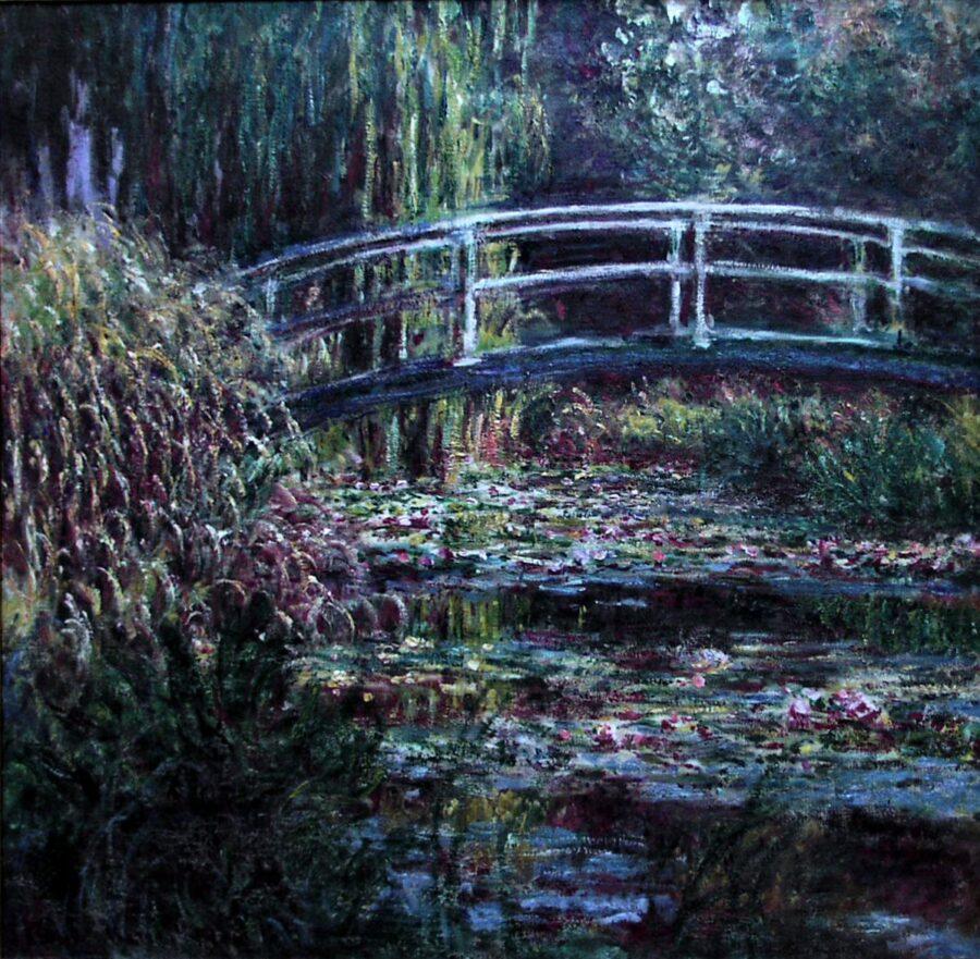 Verk av Monet.