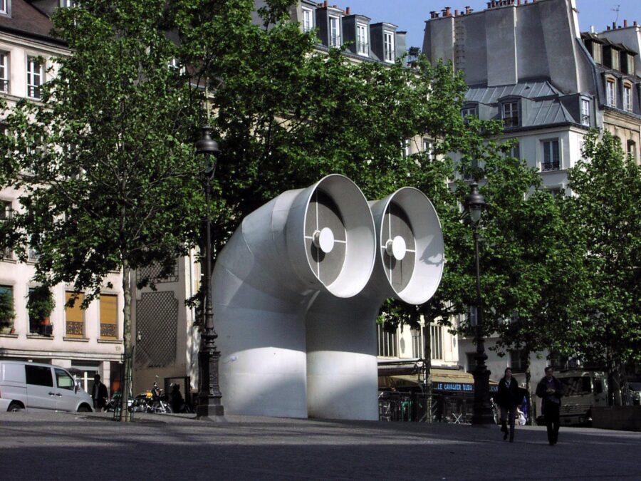 Vid Centre Pompidou.