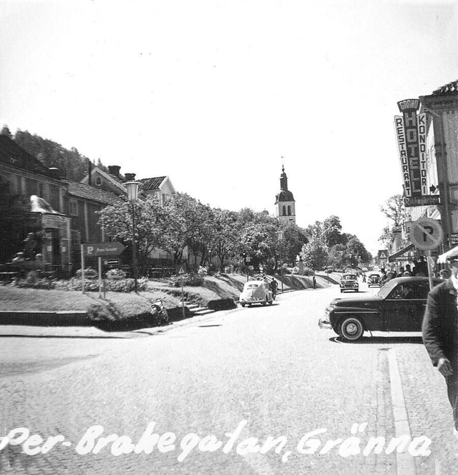 Per-Brahegatan i Gränna