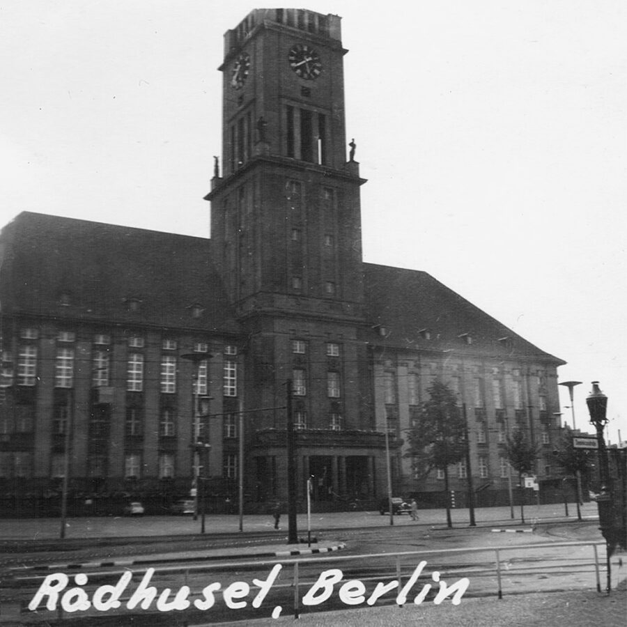 Väst-Berlins rådhus.