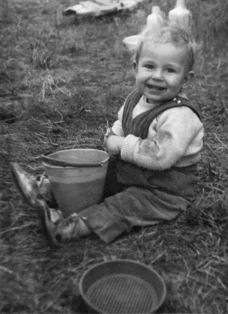 Edeltrauts lillebror Hans-Peter.