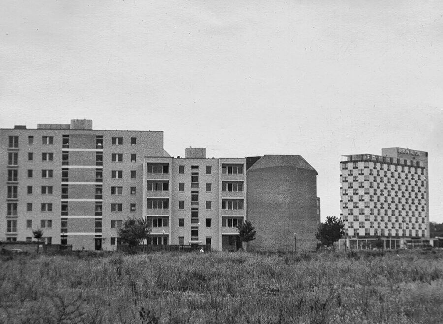 Bebyggelse i Väst-Berlin.