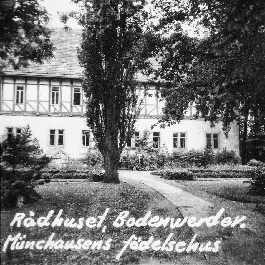 Rådhuset i Bodenwerder.