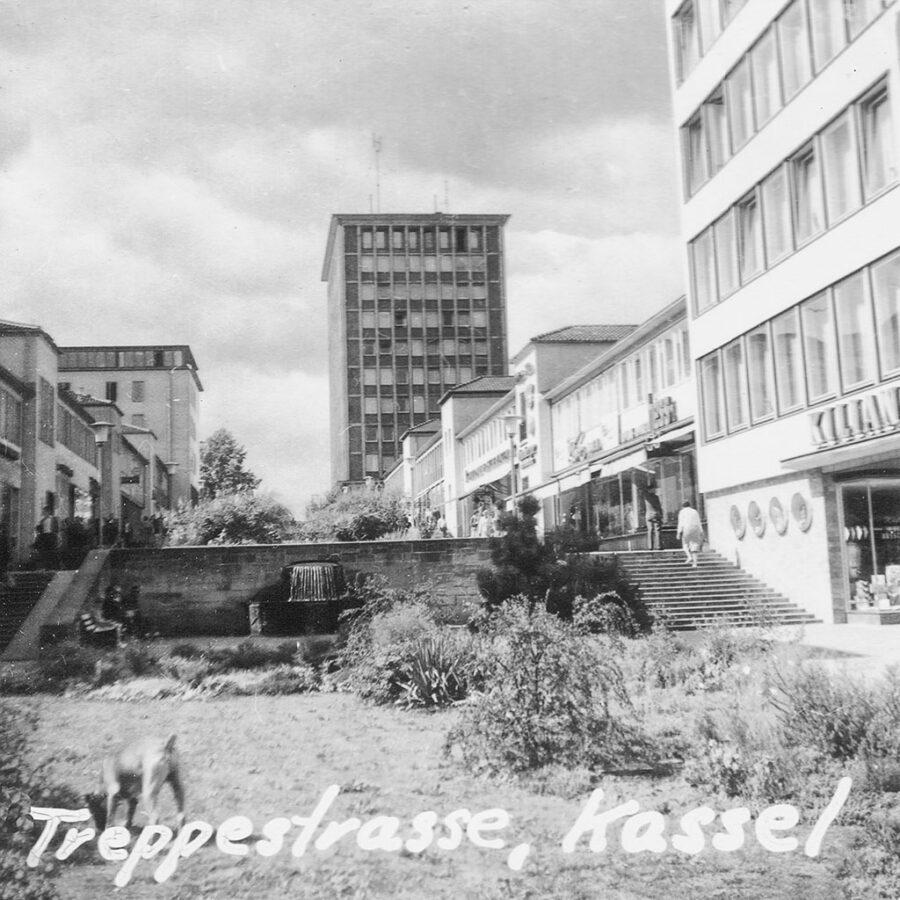 Trappestrasse i Kassel.