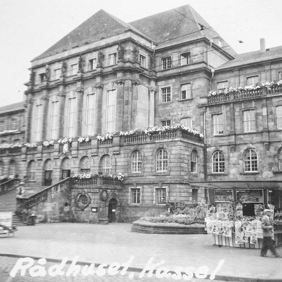 Rådhuset i Kassel.